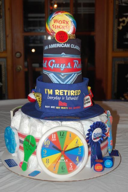 Cake Decoration Ideas Retirement : Retirement Cake Decorations