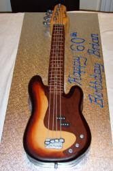 Guitar birthday cake for 60th birthday.JPG