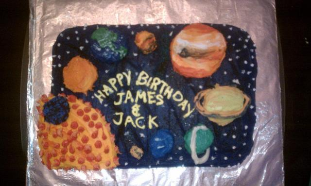 Name Solar System Cake (page 2) - Pics about space