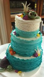 3 tier Finding Nemo theme cake.JPG