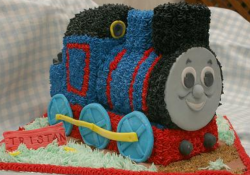 Thomas the train cake shape perfect for kids birthday boy party.PNG