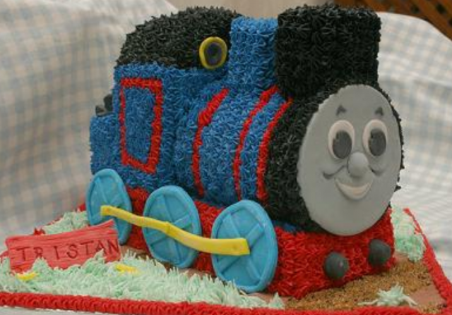 Thomas The Train Cake Shape Perfect For Kids Birthday Boy