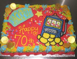 Slot machine birthday cake for 70th birthday.JPG