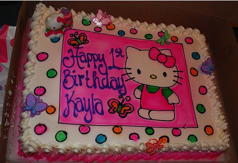 Amazing Hello Kitty First Birthday Cake Jpg Funny Birthday Cards Online Inifodamsfinfo