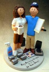 35th Anniversary Wedding Cake Topper_cool cake.jpg