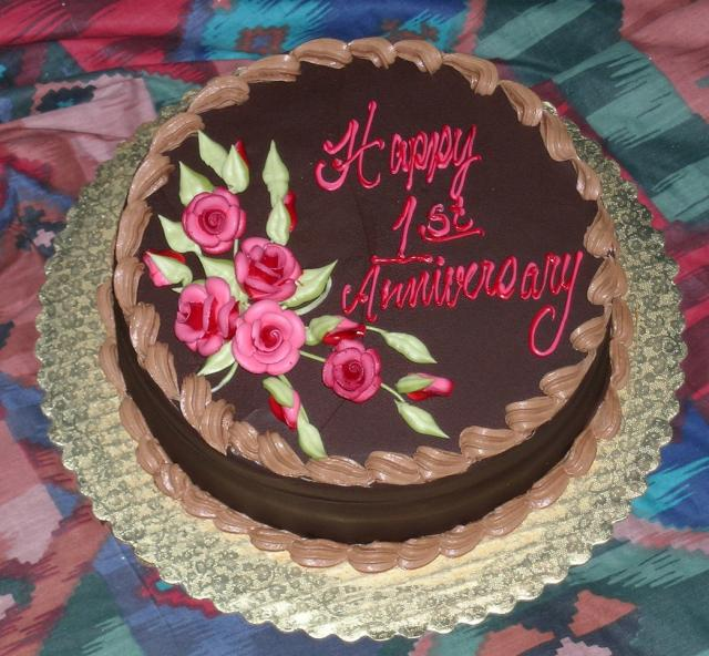 Anniversary Chocolate Cake Design : Cake Decorations Party Favors Ideas