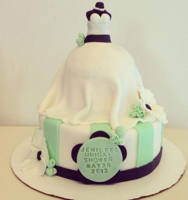 Bride Dress Cake