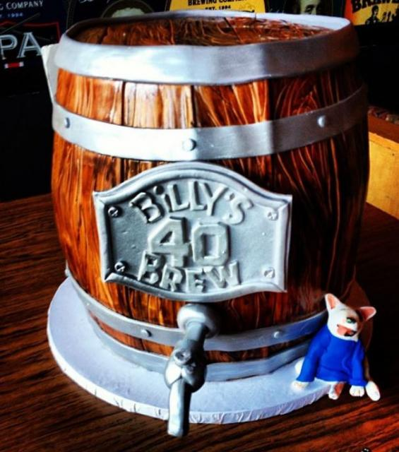 Wooden Beer Keg Cake Jpg 1 Comment