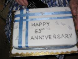 picture of 65th Wedding Anniversary Cake.jpg