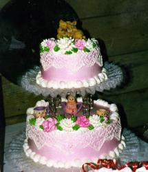 Pink Pigs Anniversary Cake picture.jpg