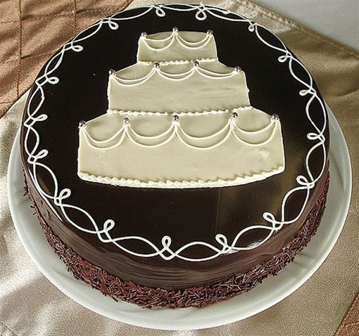 wedding cake on anniversary wedding anniversary cake pic jpg 3 comments 23337