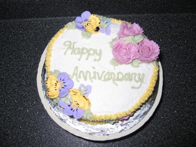 Wedding Anniversary Cake Images Hd : wedding anniversary cake with colorful flowers.jpg (1 ...