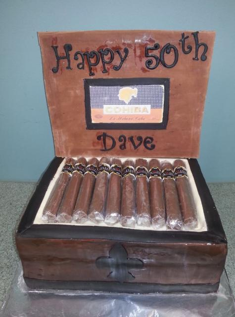 Cigar Box Cake For 50th Birthday Jpg Hi Res 720p Hd