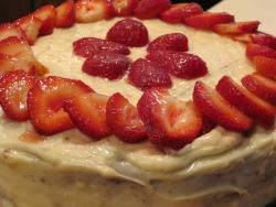 chocolate cake with cream cheese frosting with fresh strawberries.jpg