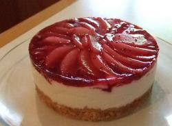 low carb cheese cake with berries topping.jpg