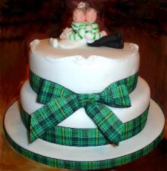 celtic connection wedding cake