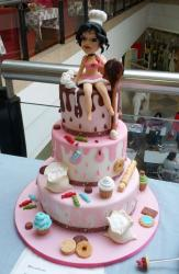 Women Indulgence Candy Sweets 3 Tier Cake.JPG