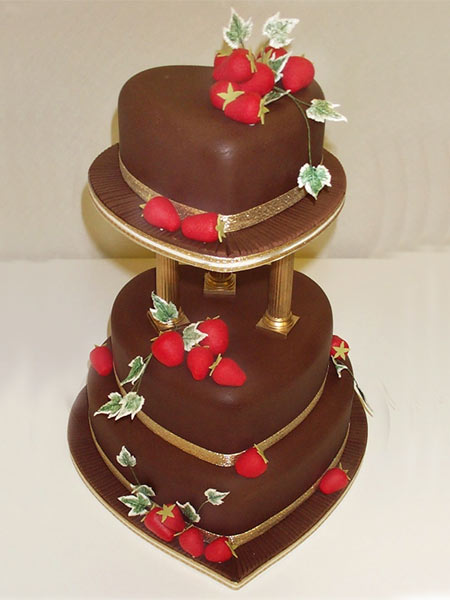 chocolate wedding cake gallery chocolate wedding cake strawberries 1 comment 12763