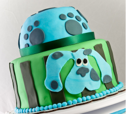 Boy blue clues cake for birthday.PNG