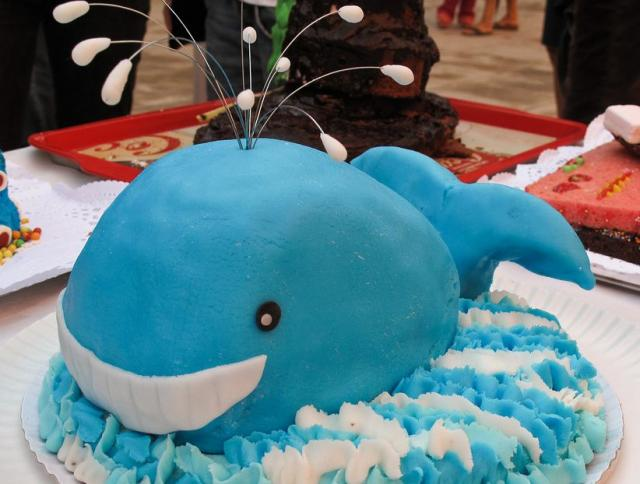 Blue Whale Birthday Cake Jpg 2 Comments