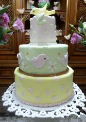 3 tier bird-theme whimsical baby shower cake.JPG
