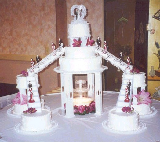 big wedding cake photo