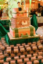 Luggages wedding cake