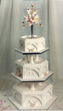 how tall is a 3 tier wedding cake wedding cake royal in three tier and has topper 15561