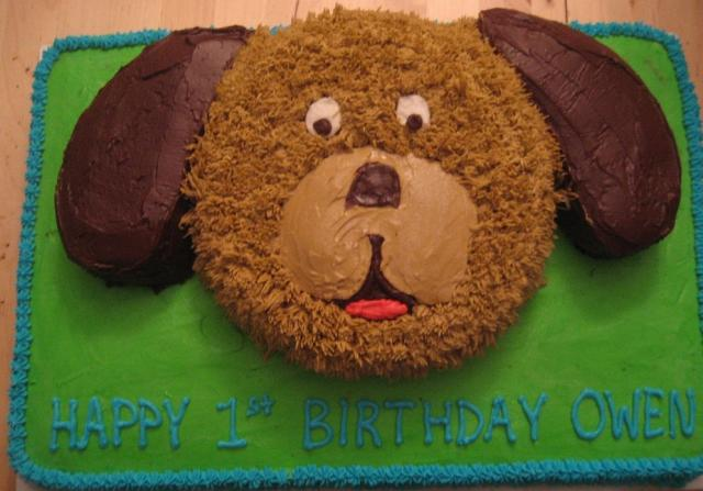 Puppy Dog Face Birthday Cake Jpg 1 Comment Hi Res 720p Hd