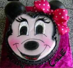 Minnie mouse birthday cake.JPG