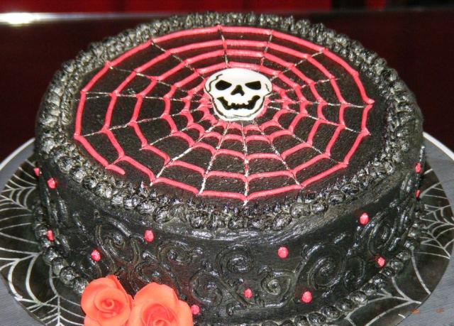 Surprising Goth Style Black Birthday Cake Jpg Hi Res 720P Hd Funny Birthday Cards Online Aeocydamsfinfo
