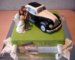 mini car wedding cake topper car wedding cake car wedding cake toppers car wedding 17391