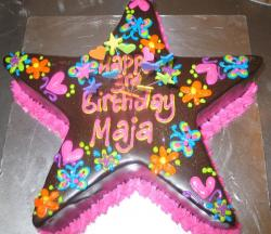 Chocolate star birthday cake.JPG