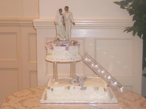 Stairs Cake Topper