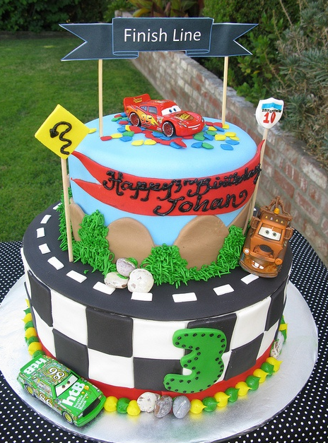 Terrific Car Birthday Cake Pictures Mcqueen Png Personalised Birthday Cards Beptaeletsinfo