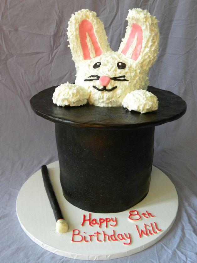 Birthday And Party Cakes Rabbit Birthday Cake 2010