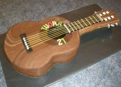 Chocolate guitar birthday cake.JPG