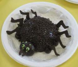 Chocolate spider cake.JPG