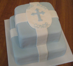 Blue and white baptism cakes imagess.PNG
