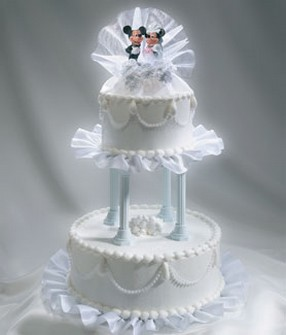 fancy wedding cake toppers fancy topper wedding cakes photo 4045