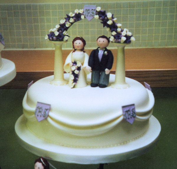 cute wedding cake wedding cake 13271