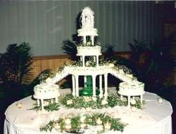 Wedding Cake image with very interesting style