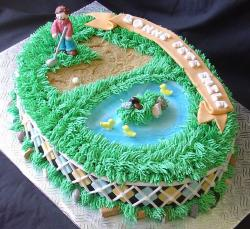 Golf theme birthday cake.JPG