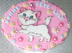 Aristocats kitty birthday cake.JPG