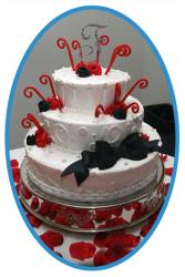 party wedding cake
