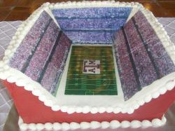 Texas A&M football stadium cake.JPG