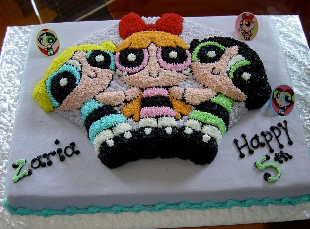 Powerpuff Girls 5th birthday cake.JPG