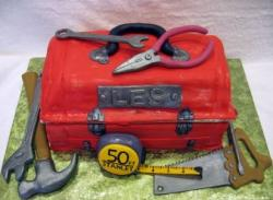 Red toolbox birthday cake.JPG