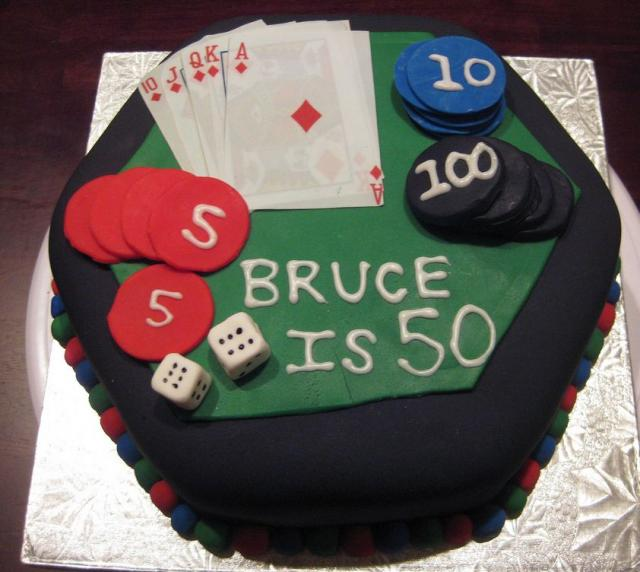 Poker Theme 50th Birthday Cakeg Hi Res 720p Hd