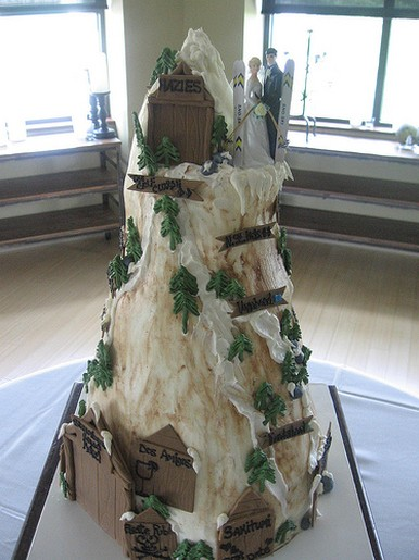 Mountain Wedding Cake Jpg